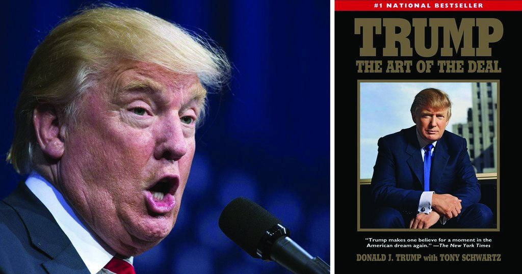@RealDonaldTrump suckered donors with an autographed copy of his book 'Art of the Deal'