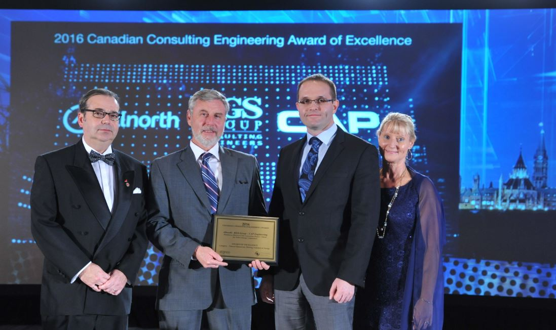 Award of Excellence goes to @Allnorth! For #Whitehorse Diesel to Liquefied Natural Gas Conversion Project: Congratulations! #CCEawards https://t.co/q1aUigTDHD