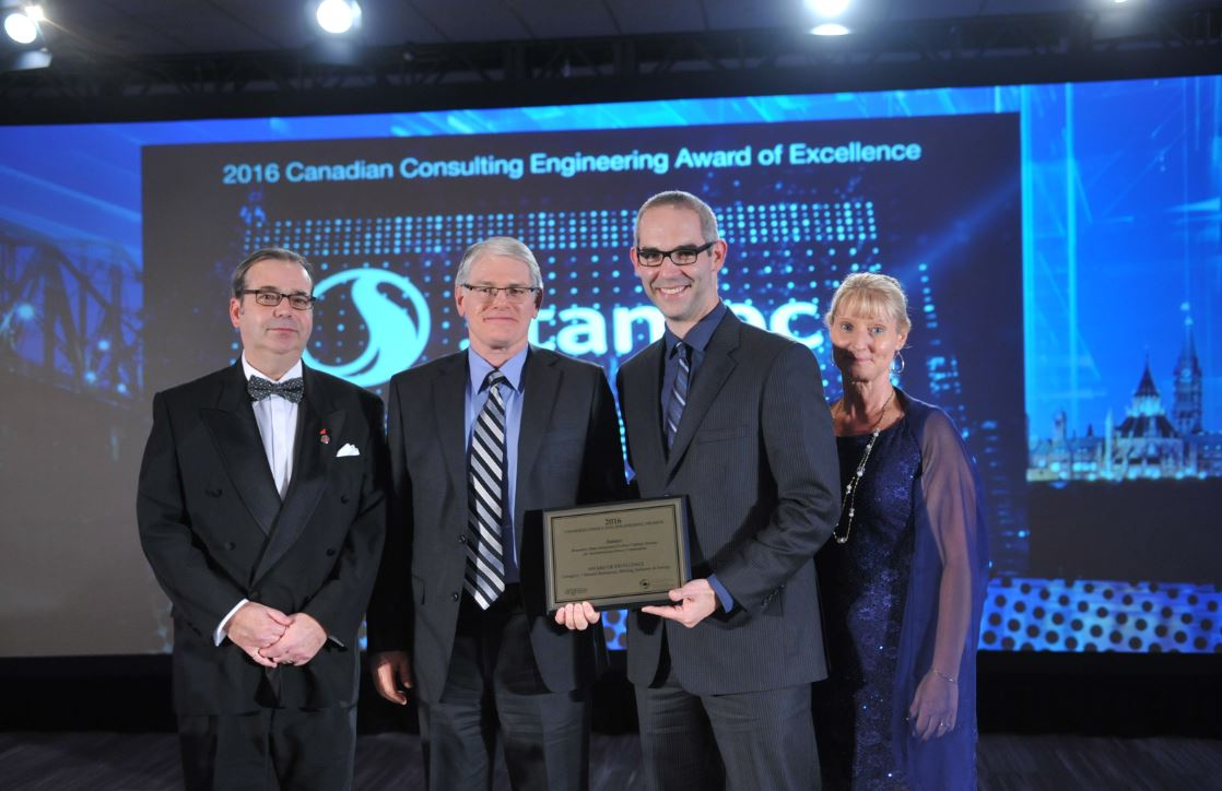 .@Stantec wins Award of Excellence for Boundary Dam Integrated Carbon Capture Storage Project at #CCEawards! https://t.co/geoJA5uCDr