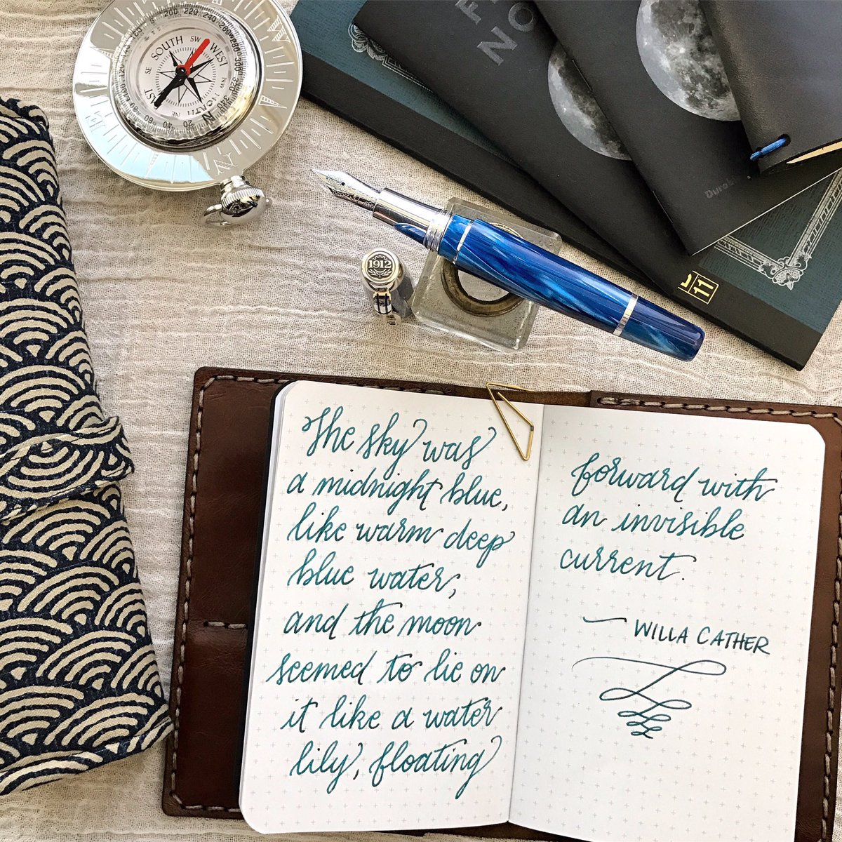 ... the stationery community last year by announcing that Dante Delvecchio,  formerly of Visconti, had joined the company to focus on its fountain pen  line.