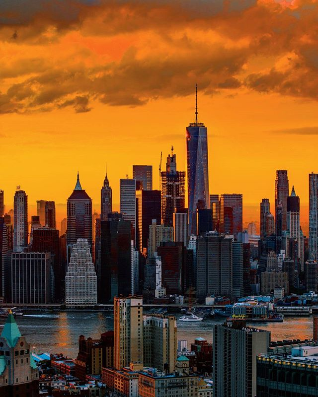 A stunning shot during golden hour! Thanks to Instagram user @m_bautista330 for sharing with abc7ny!