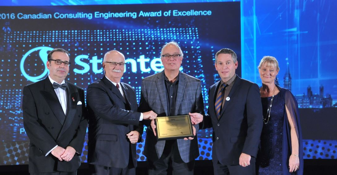 #Building category: Award of Excellence goes to @Stantec for their work on the 351 Water Street project in St. John's!  #CCEawards https://t.co/SesE4zIhai