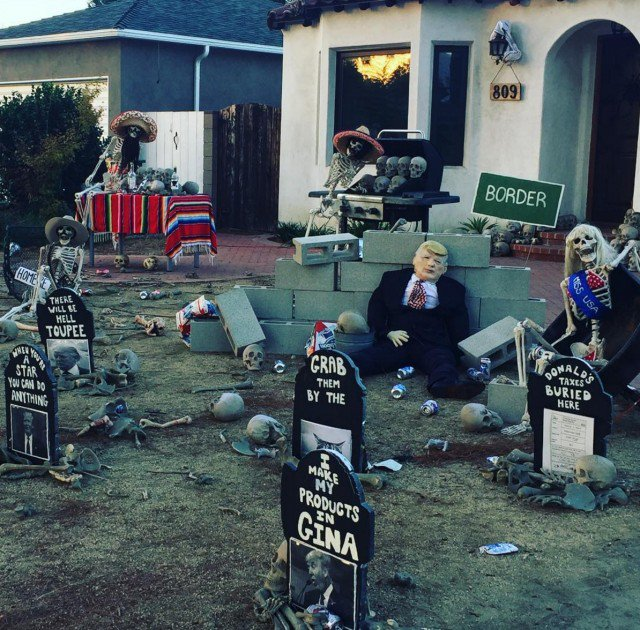 L.A.'s Scariest Halloween Display Is Our Dystopian Future