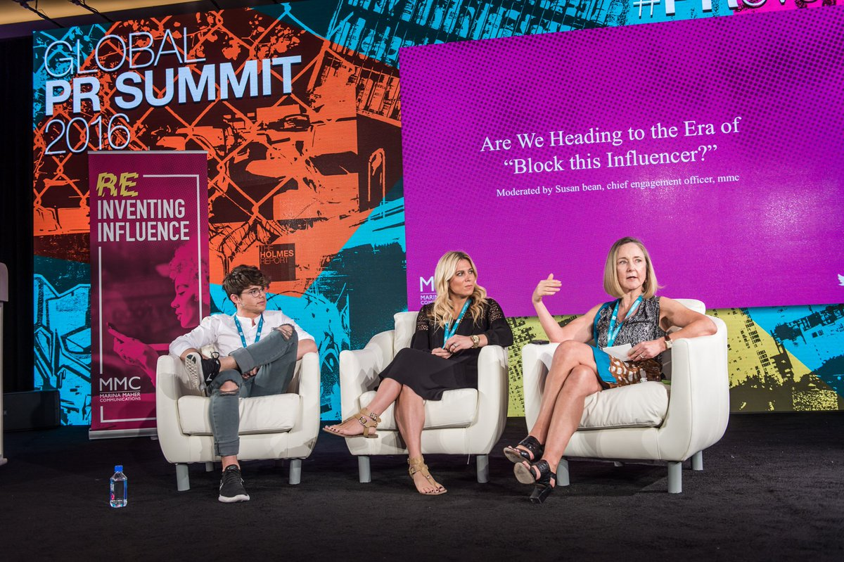 Brilliant session on influencer marketing #PRovoke16 https://t.co/85yvyjk9GC