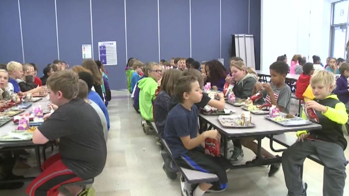 An Iowa man donated money to cover all overdue lunch balances for 89 students.