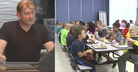 Man donates to school to cover all overdue student lunch balances