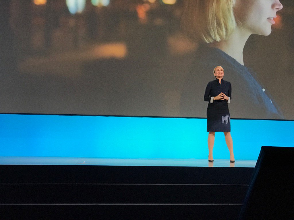 The promise of the #IoT is to connect us intimately with the physical world. @harrietgreen1 #ibmwow #WatsonIoT https://t.co/7VEmZ8Oblf