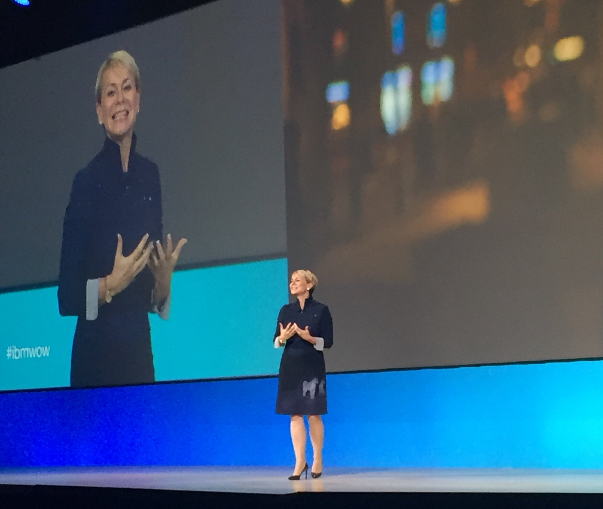 At the IoT keynote at #ibmwow. 'Cognitive computing will effect us in deeply personal ways' says @harrietgreen1. @IBMIoT #WatsonIoT https://t.co/Ypylk38BGt