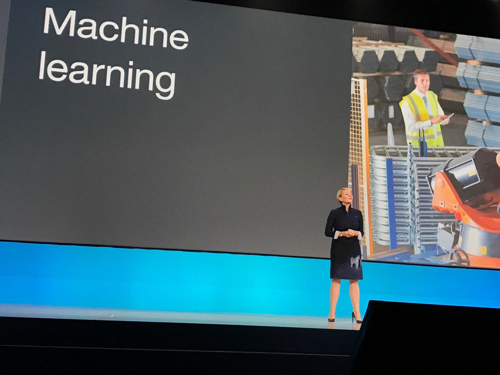 Machine learning is how #IBMWatson helps understand things, behaviors and patterns @harrietgreen1 #ibmwow #WatsonIoT https://t.co/llES1yH052