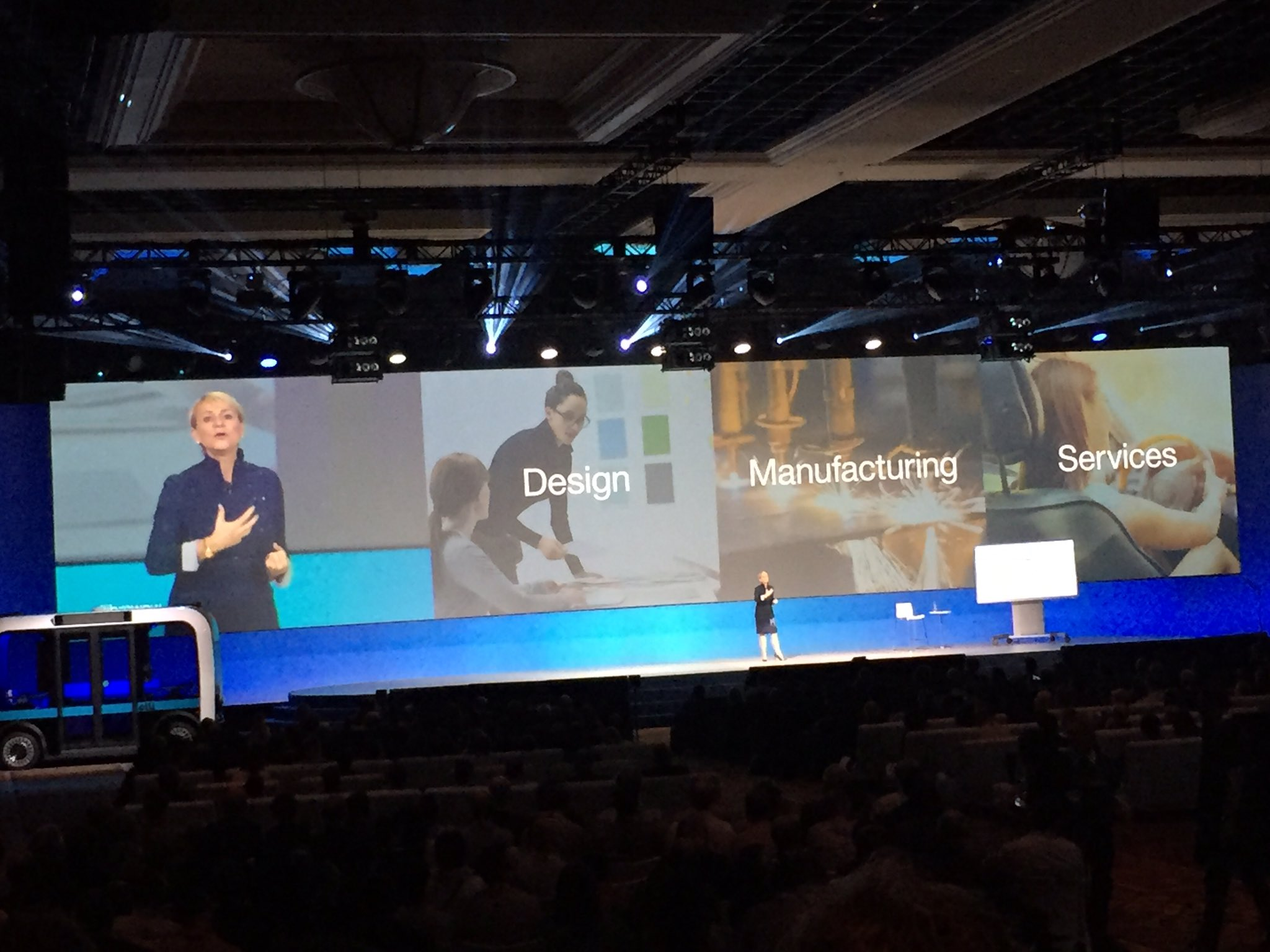 @harrietgreen1 Design, Manufacturing & Services, Reinvented Through Watson. #ibmwow #WatsonIoT #internetofthings https://t.co/2ozAUquvCQ
