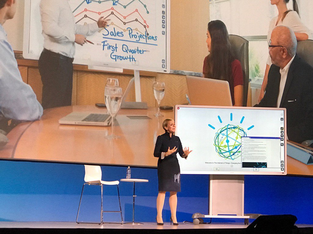 "The Ricoh cognitive smart board ""Rita"" increases productivity by connecting tools like Slack #ibmwow #WatsonIoT https://t.co/v4tvF4DYd2"