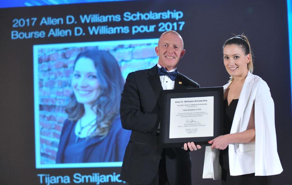 Tijana Smiljanic wins 2017 Allen D. Williams Scholarship! Congratulations Tijana! #CCEawards https://t.co/fst8nSV8uO