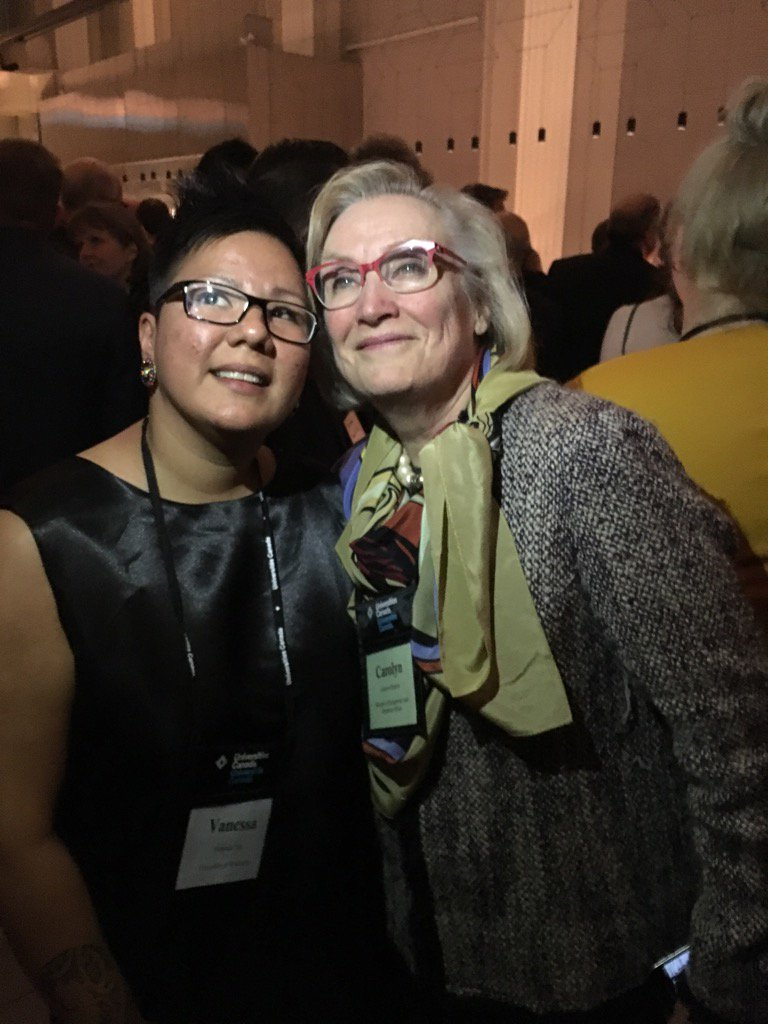 @VeeCreeGal @Carolyn_Bennett so pleased to see you both at #Homecoming2016 https://t.co/OUWr04cnfN