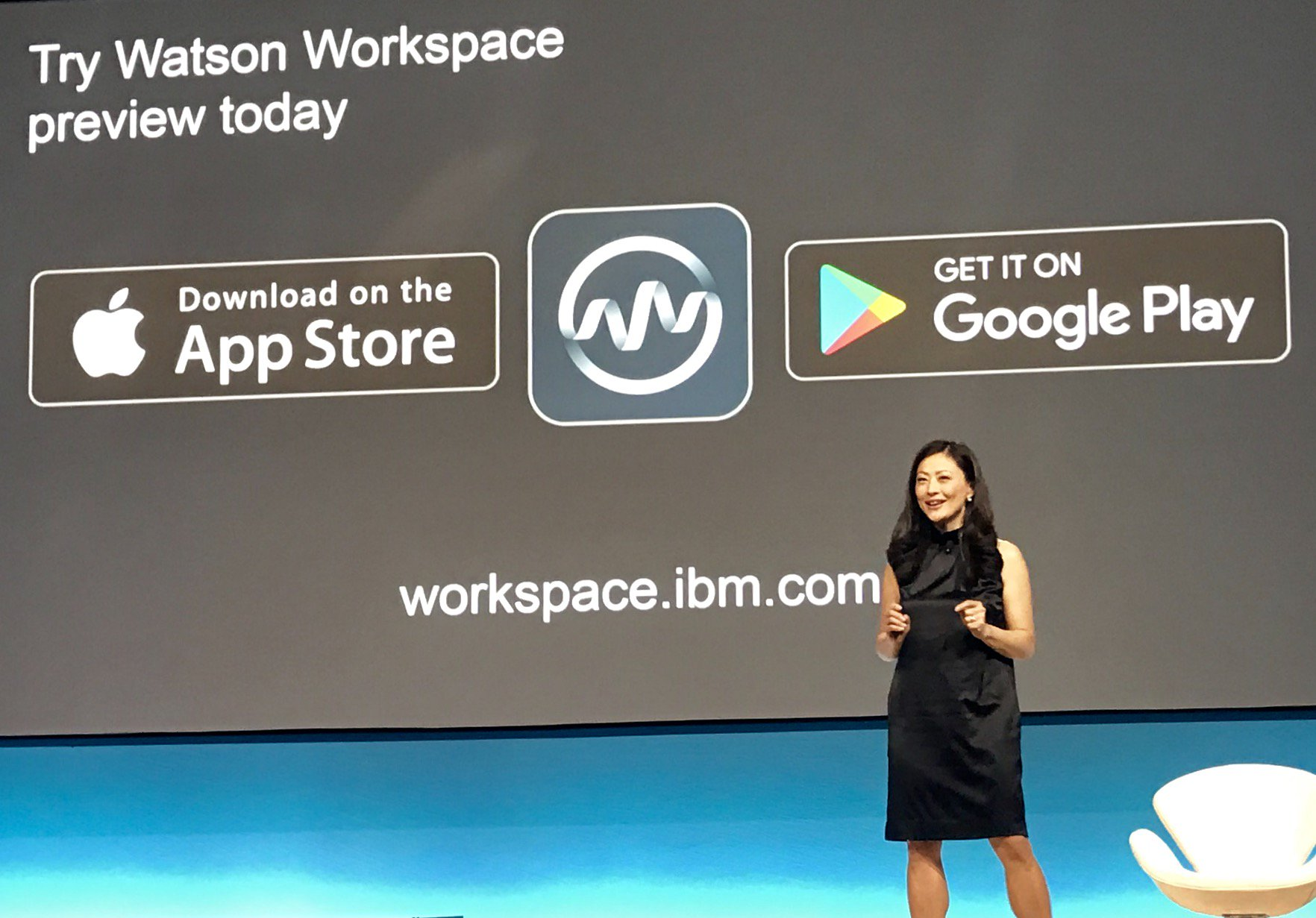 IBM Watson Workspace is live in your App Store of choice! @Inhicho invites all #IBMWoW attendees to try it out. https://t.co/kuwTPGqV1v