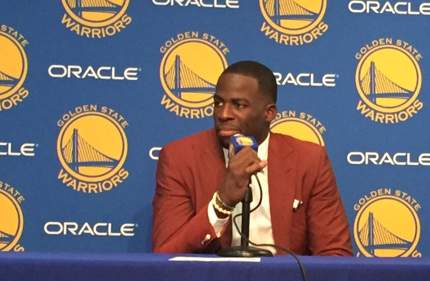Draymond on his technical: