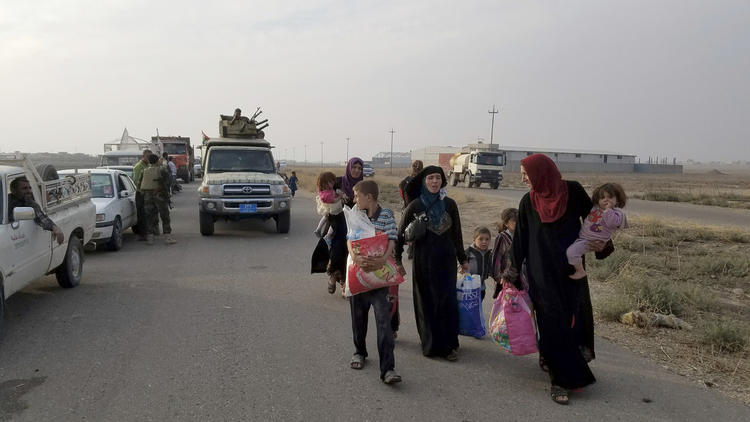 Not so liberating: Iraqi village freed from Islamic State, but then things get complicated