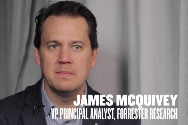 VIDEO Spotlight: James McQuivey of @forrester on why CRM is far from boring. https://t.co/uPtd0ROiiX https://t.co/oMVLa1A5HH