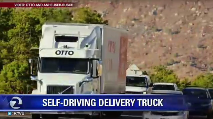 Beer run! SelfDriving big rig makes beer run across 120 miles of Colorado.