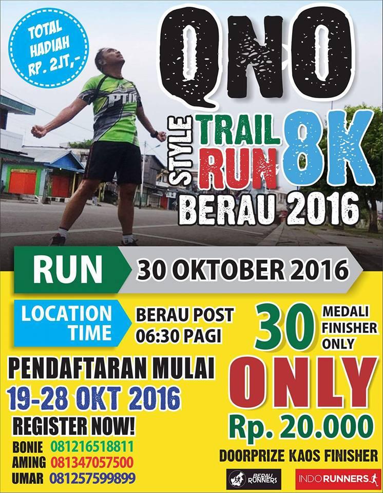 Berau QnO Trail Run