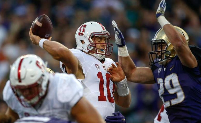 Stanford switches QBs, will start Keller Chryst at Arizona via @tomgfitzgerald
