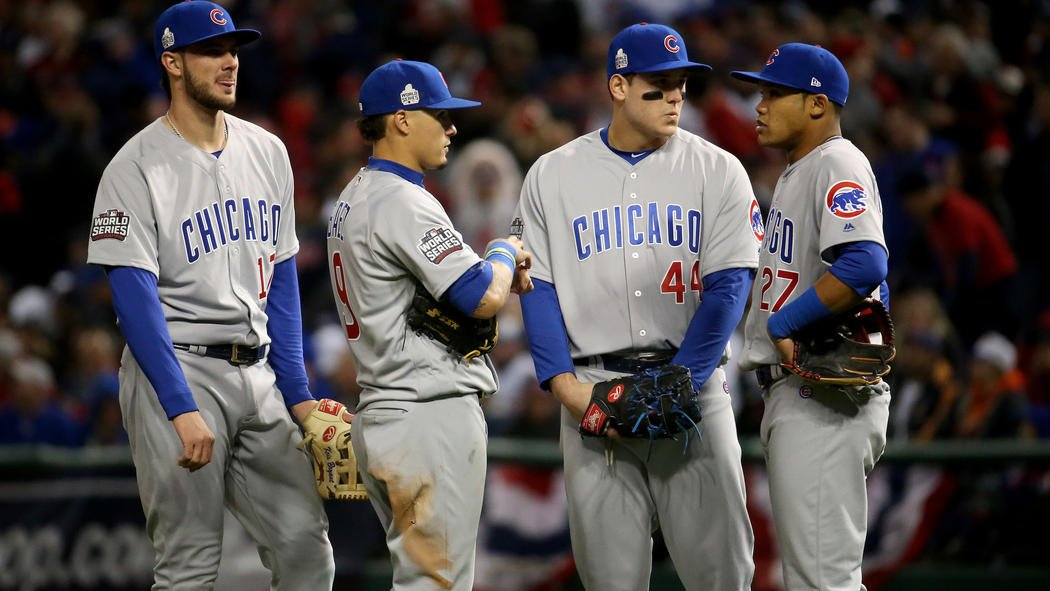 Indians lead Cubs 6-0 heading into the ninth inning