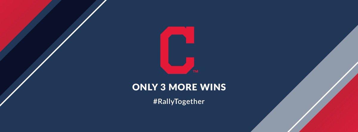 Indians win 6-0. #WorldSeries #RallyTogether https://t.co/TiiAexSAjs