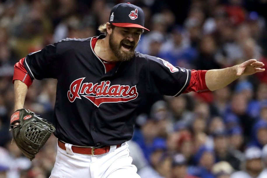 Indians blank Cubs to win Game 1 of WorldSeries