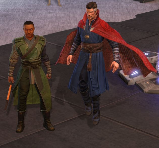 Mordo and Dr. Strange Team Ups