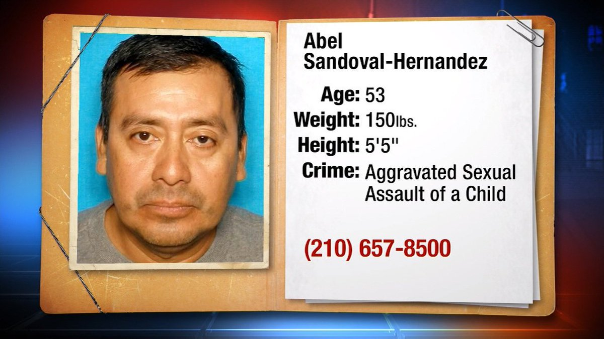 SA man suspected of repeated sex attacks on young girl KSATnews