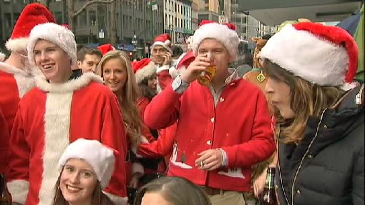 Get your red suits ready -- SantaCon has named its location for this year