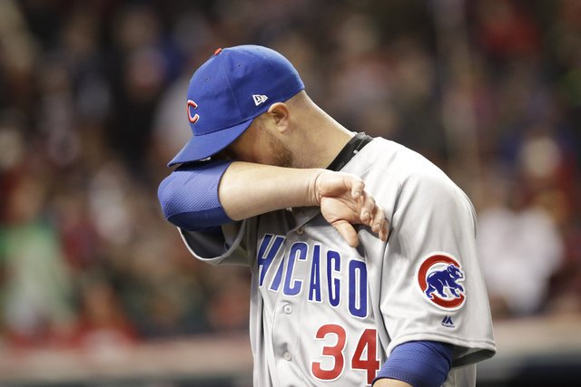 Kluber Cruises As Indians Take Game 1 Of World Series, 6-0, But Cubs Need Not Panic