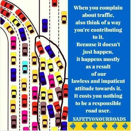 Ayo Safers. Biasakan antri saat arus lalu lintas padat. Saling serobot perilaku pengguna jalan yang tidak beradab. https://t.co/0wJRztEpDf