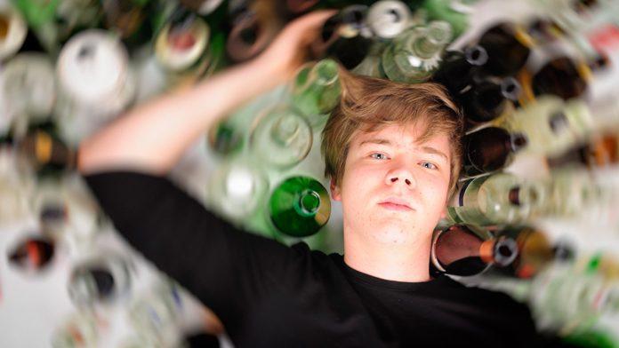 Epatite acuta per abuso di bevande energetiche.