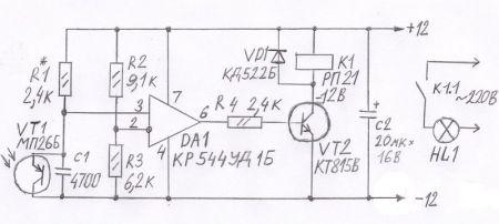 Схема включения реверсивного магнитного пускателя