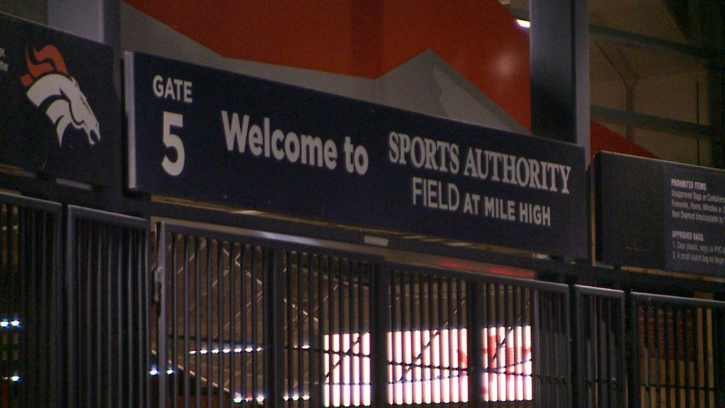 Man dies after falling 60 feet over railing at Broncos game