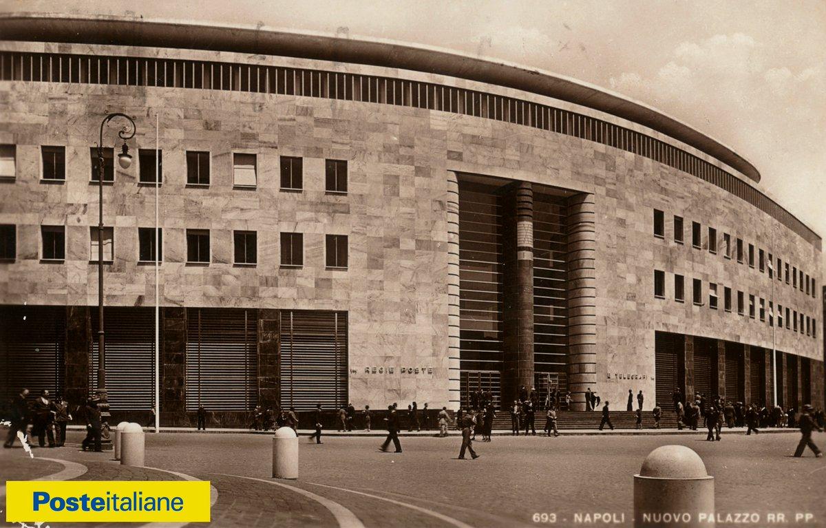 Poste Italiane on Twitter: &quot;#Napoli 80 di vita, 80 di storia. Il palazzo  delle Poste di piazza Matteotti apre le porte alla città. Domani, dalle  10.00. Vi aspettiamo!… <a href=