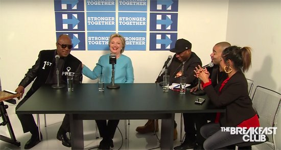 Watch: Stevie Wonder Sings Happy Birthday to Hillary Clinton https://t.co/k0LFEFQl6F https://t.co/AGVttVYAjA