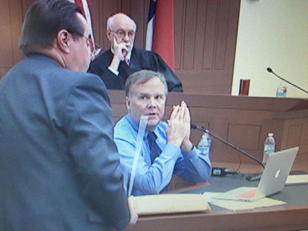 Defense asks for mistrial in Mike Wallace assault case b/c two potential witnesses heard earlier testimony