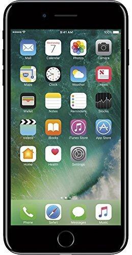 Apple iPhone 7 Plus Unlocked Phone 256 GB - US Version (Jet Black) -...
