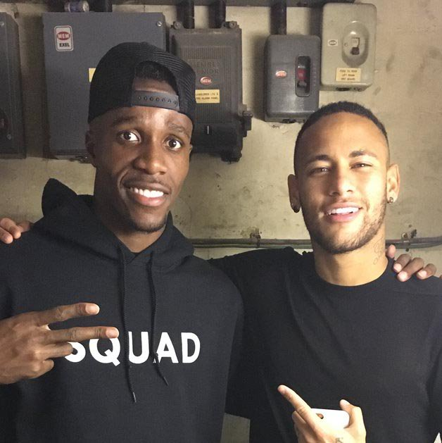 Image result for Neymar and Zaha