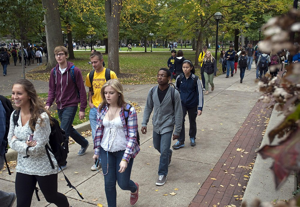 UMich shows more diversity in enrollment numbers.