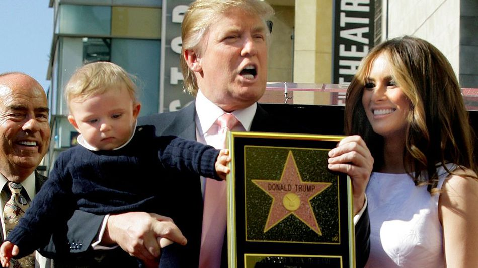 Trump's Walk of Fame Star Destroyed by Sledgehammer