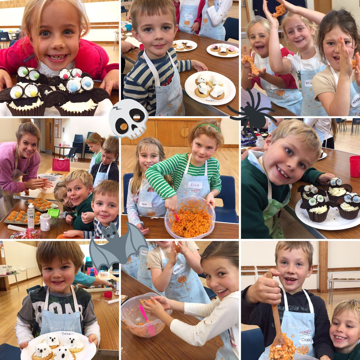 SueChef School On Twitter Fantastic Halloween Cookery Course - Children's birthday parties tunbridge wells