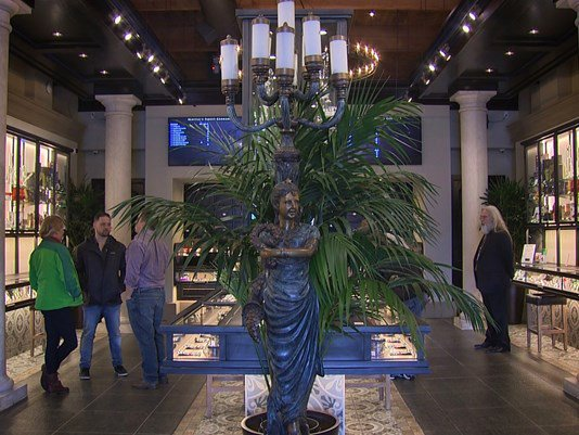 New pot shop gives meaning to the term 'high end.' @KING5Evening