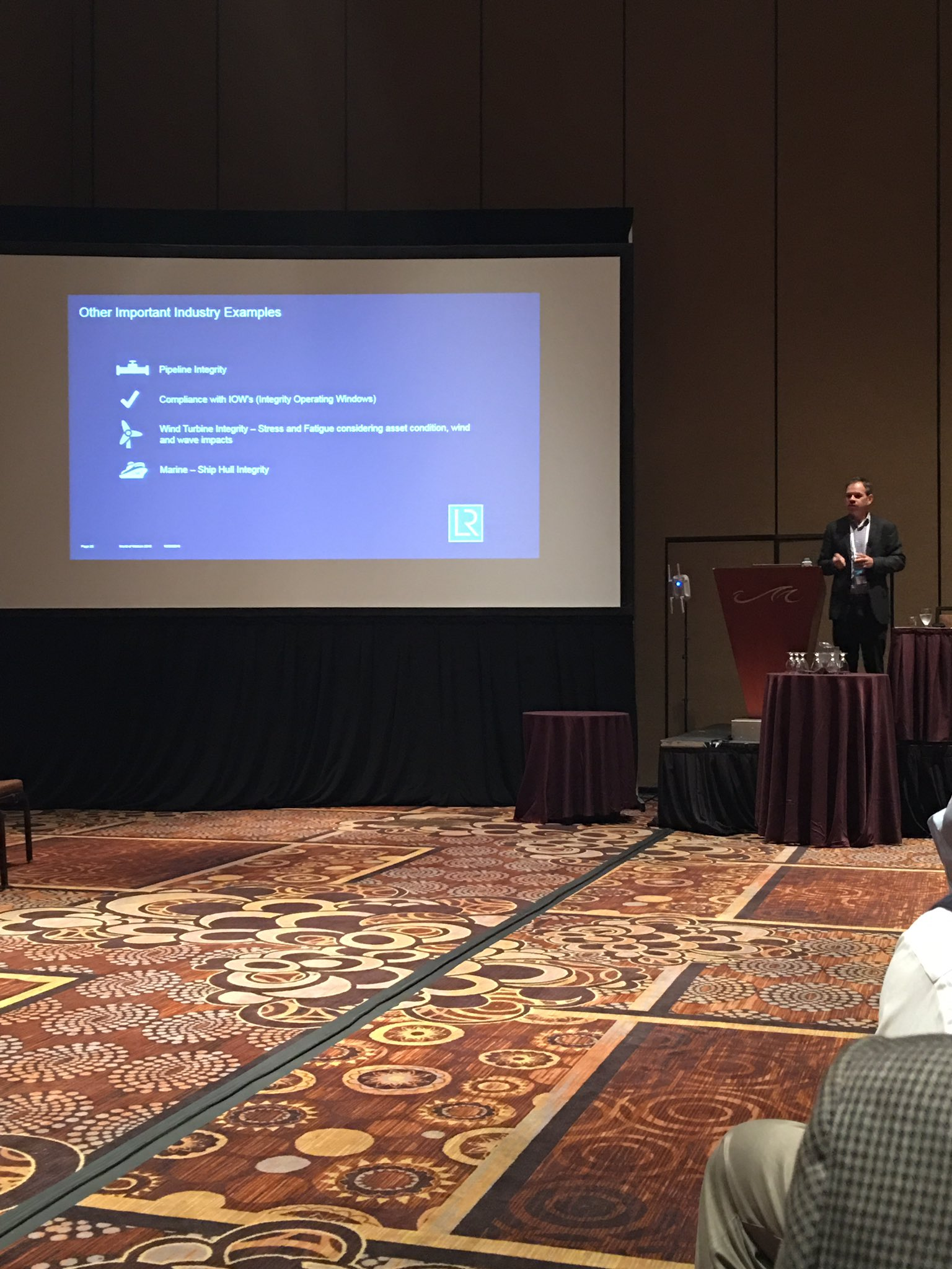@JeffCBonnell shares how @lloydsregister predicts corrosion under insulation with #WatsonIoT . @ibmoilandgas #ibmwow https://t.co/oasRd201BO