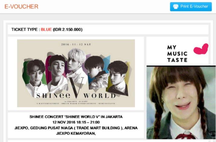 """Hasil carian imej untuk """"SHINee World V"""" di JIEXPO Kemayoran,"""