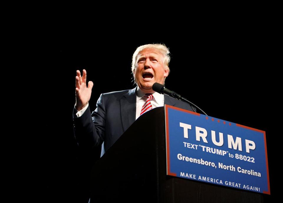After railing against the media, Trump turns to Facebook Live to reach his supporters