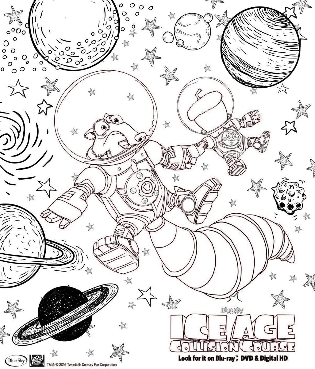 Ice Age On Twitter Enjoy These Coloring Book Pages During Your Iceage Collisioncourse Family Movie Night Https T Co Isbleasycq