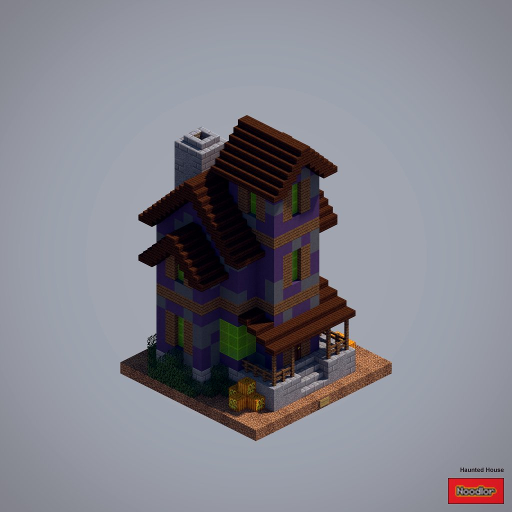 Noodlor on twitter decided to make a quick haunted house in noodlor on twitter decided to make a quick haunted house in minecraft sciox Choice Image