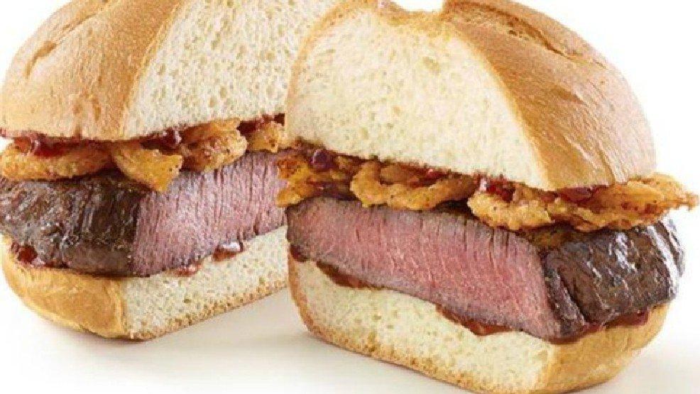 Arby's testing a thick cut venison sandwich >>